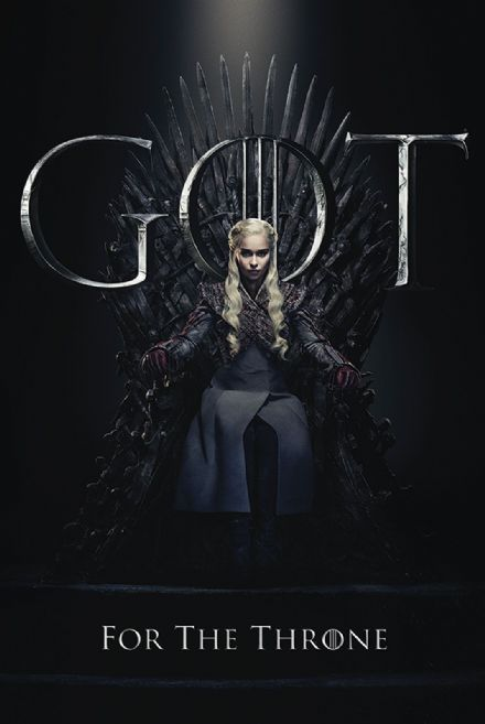 Game of Thrones Daenerys For The Throne 61x91,5cm Movie Poster